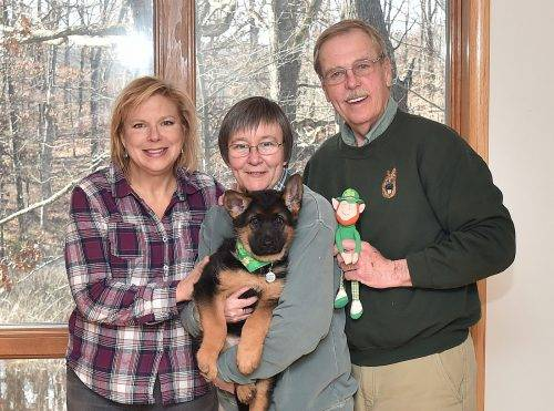 3-17-18 Julie, Lynda and Jack with AT OConnor
